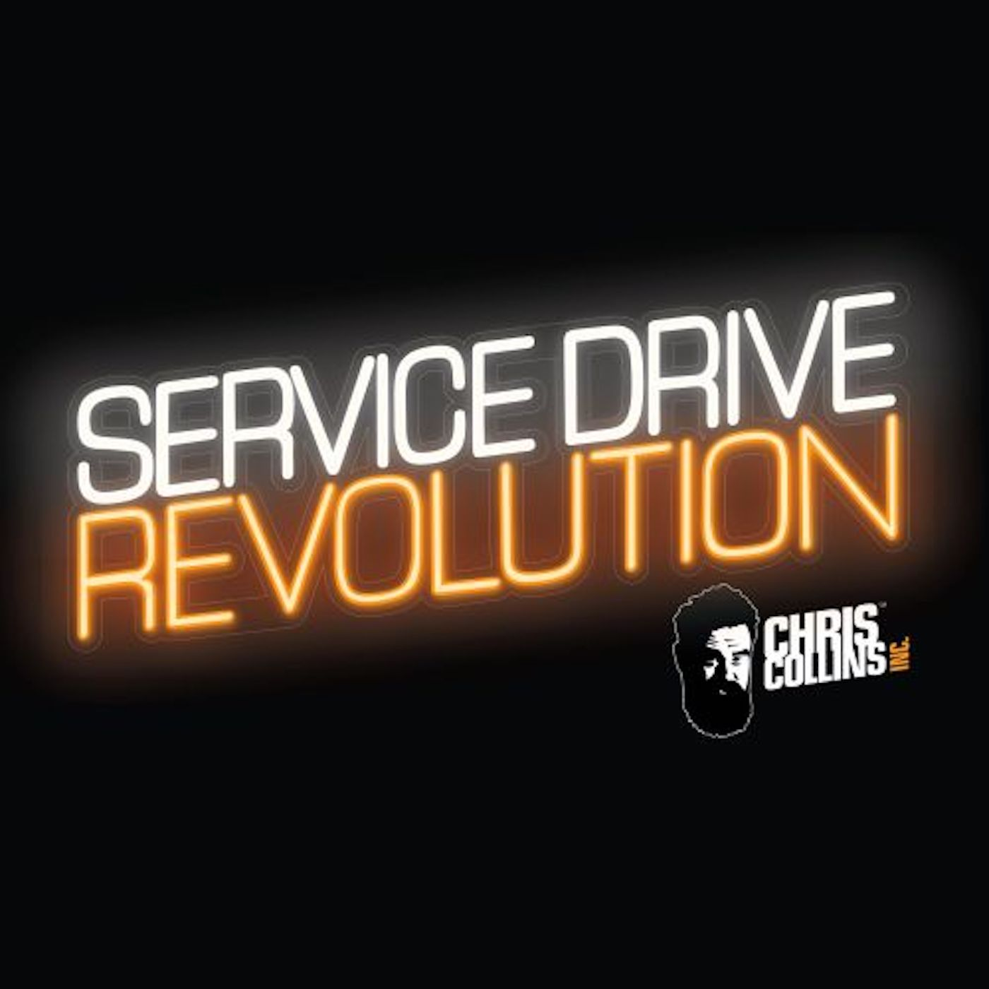 Service Drive Revolution with Chris Collins show art