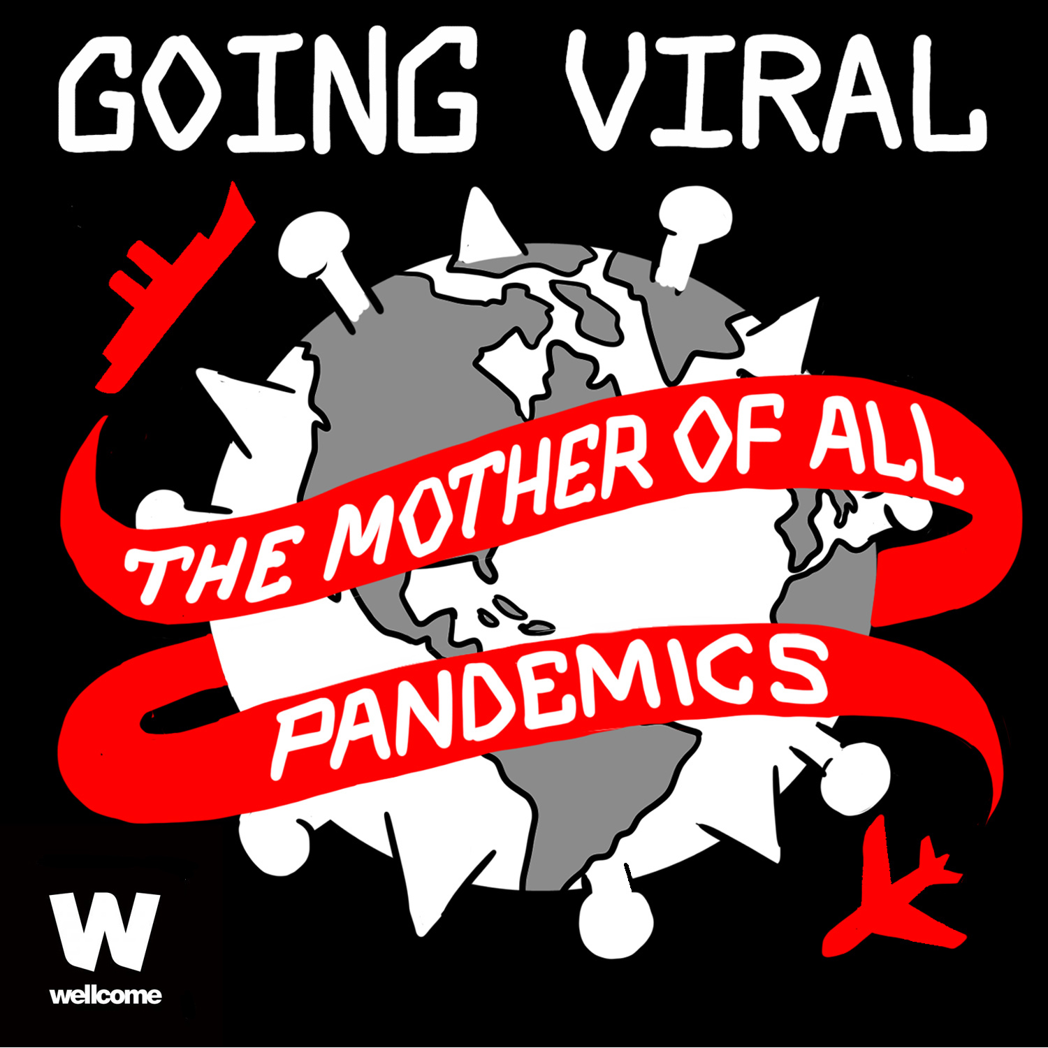 Going Viral: The Mother of all Pandemics show art