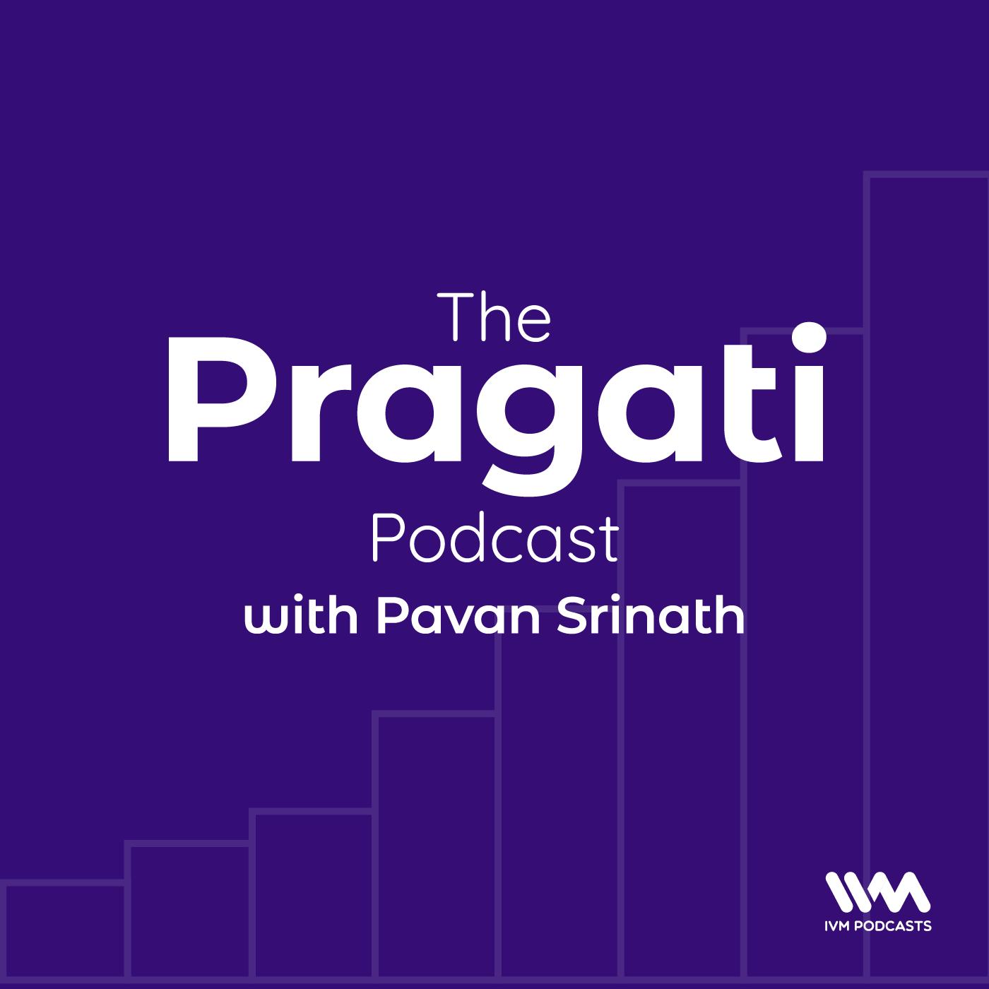 The Pragati Podcast show art