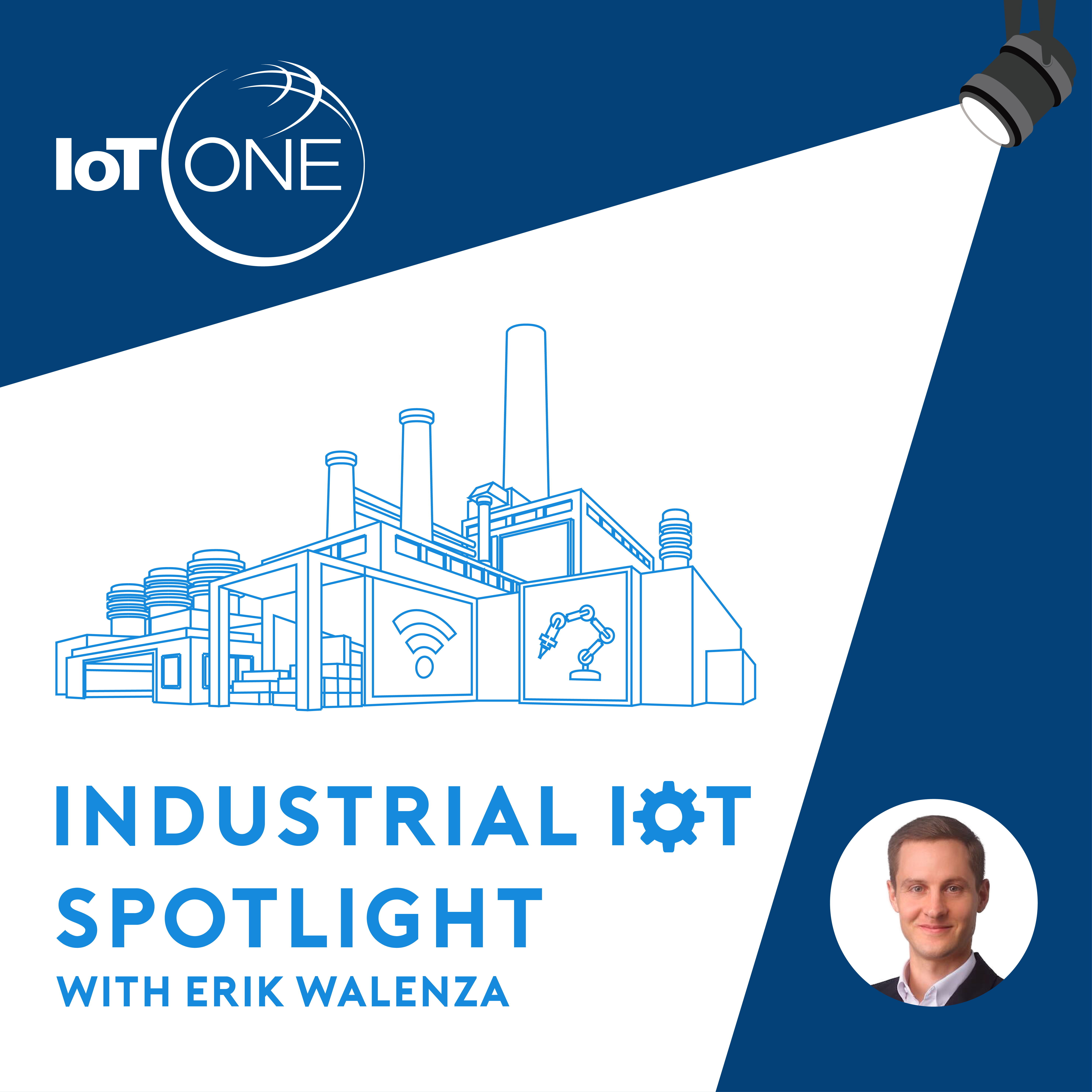 IIoT Spotlight Podcast EP 047: Understanding the State of, and Challenges in IoT Implemention in Heavy Asset Industries – An Interview with Dave McCarthy of Bsquare show art