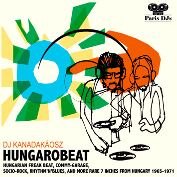 DJ Kanadakaosz from The Qualitons - Hungarobeat