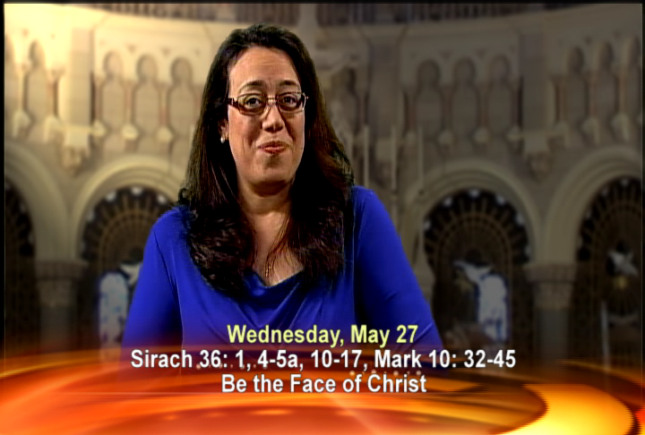 Artwork for Wednesday, May 27th Today's Topic: Be the face of Christ