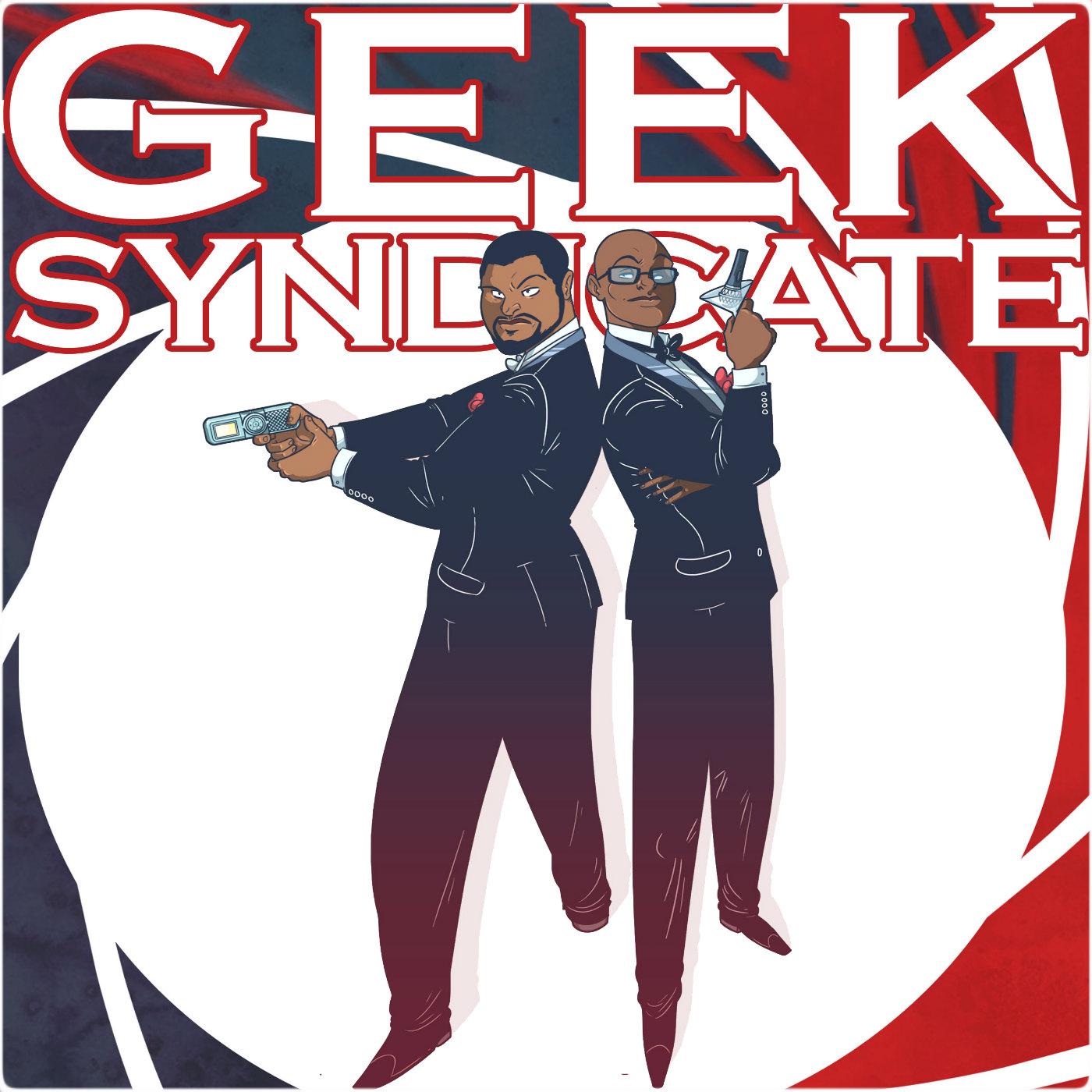 Artwork for Geek Syndicate 50th Special Party mix 1- soundbites