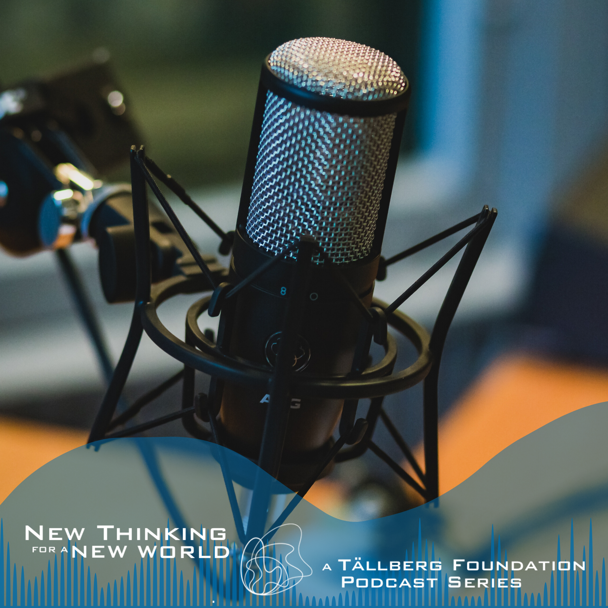 New Thinking for a New World - a Tallberg Foundation Podcast show art