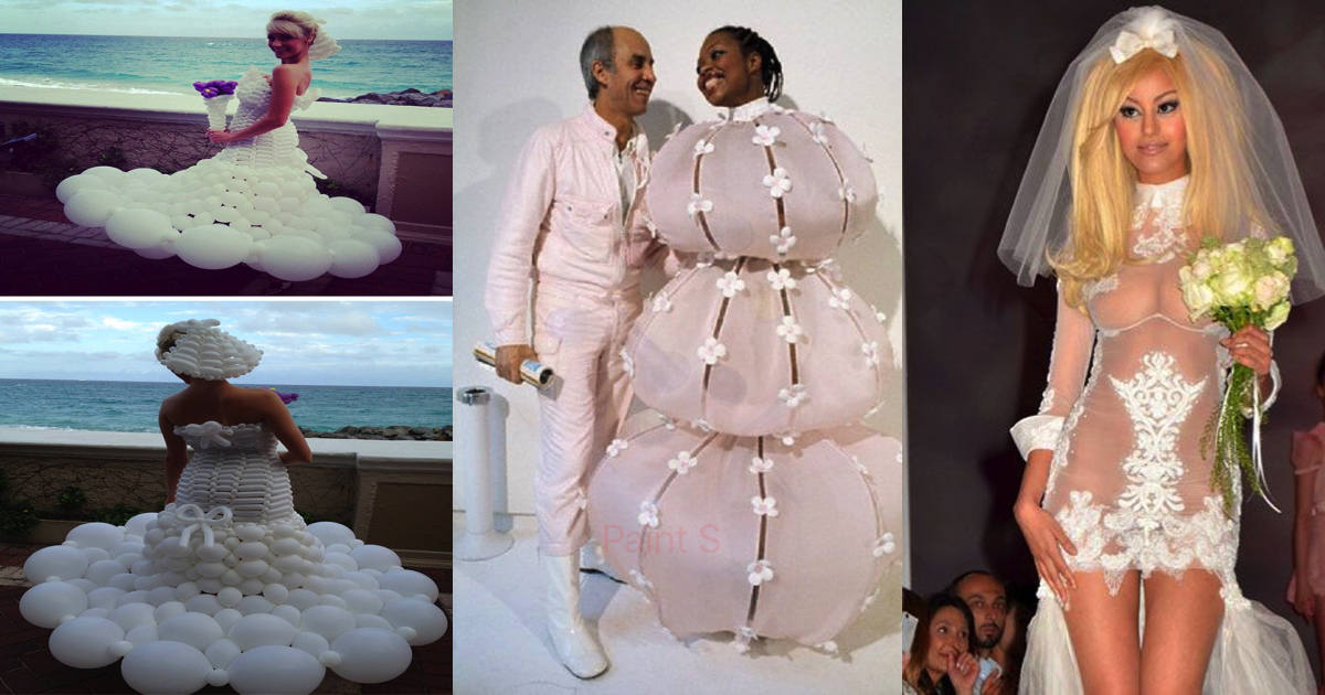Top 10 of the weirdest wedding dresses ever – Fashion Trends