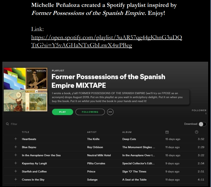 penaloza's mixtape on spotify image