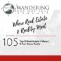 Artwork for Episode 105: Top 10 Real Estate Videos   15 Fun Oscar Facts