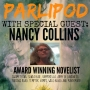 Artwork for PARLIPOD #7 with Nancy Collins