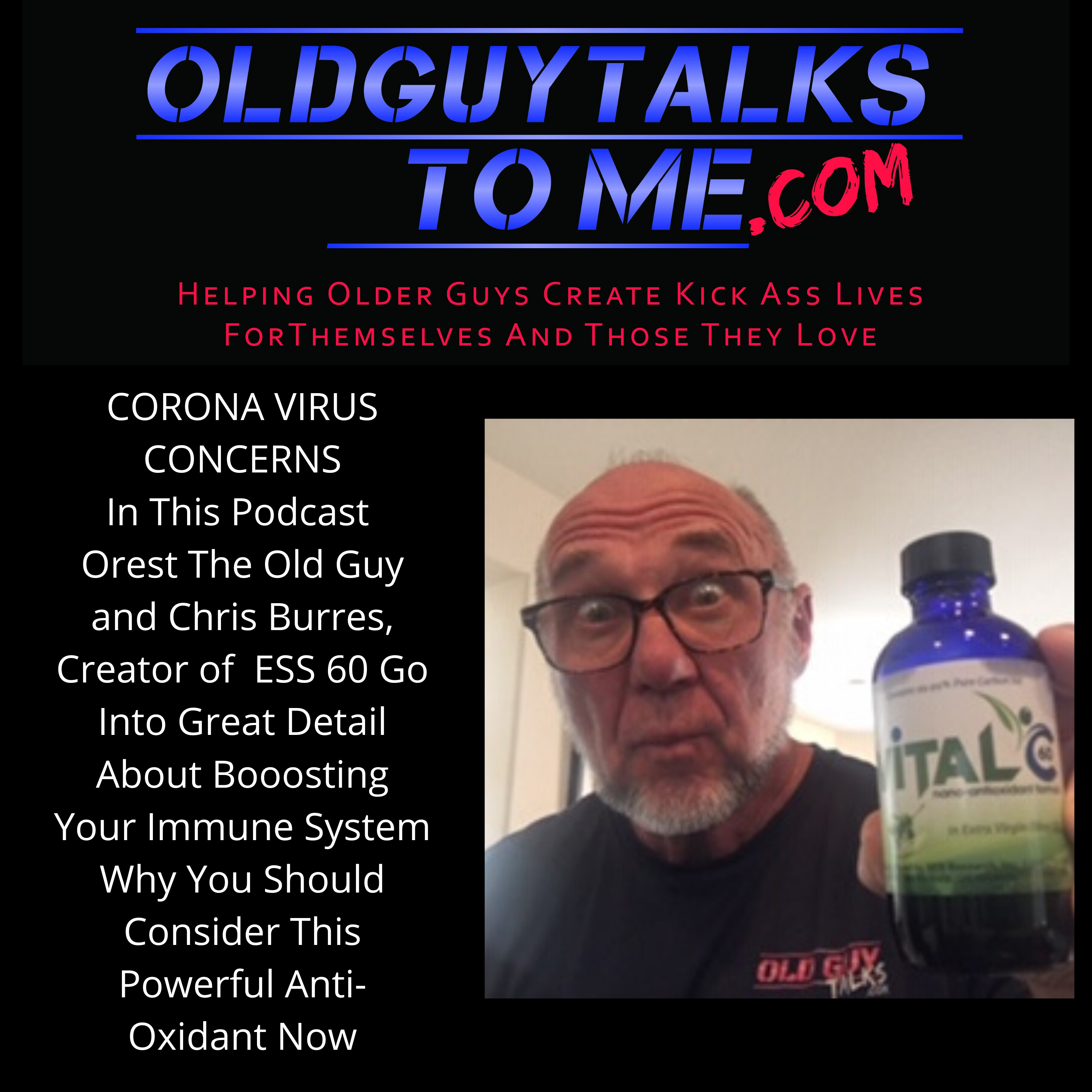 OldGuyTalksToMe - WHAT YOU CAN DO ABOUT CORONA VIRUS