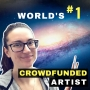 Artwork for World's #1 Crowdfunded Artist