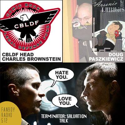 Fanboy Radio #512 - Brownstein, Paszkiewicz, T4