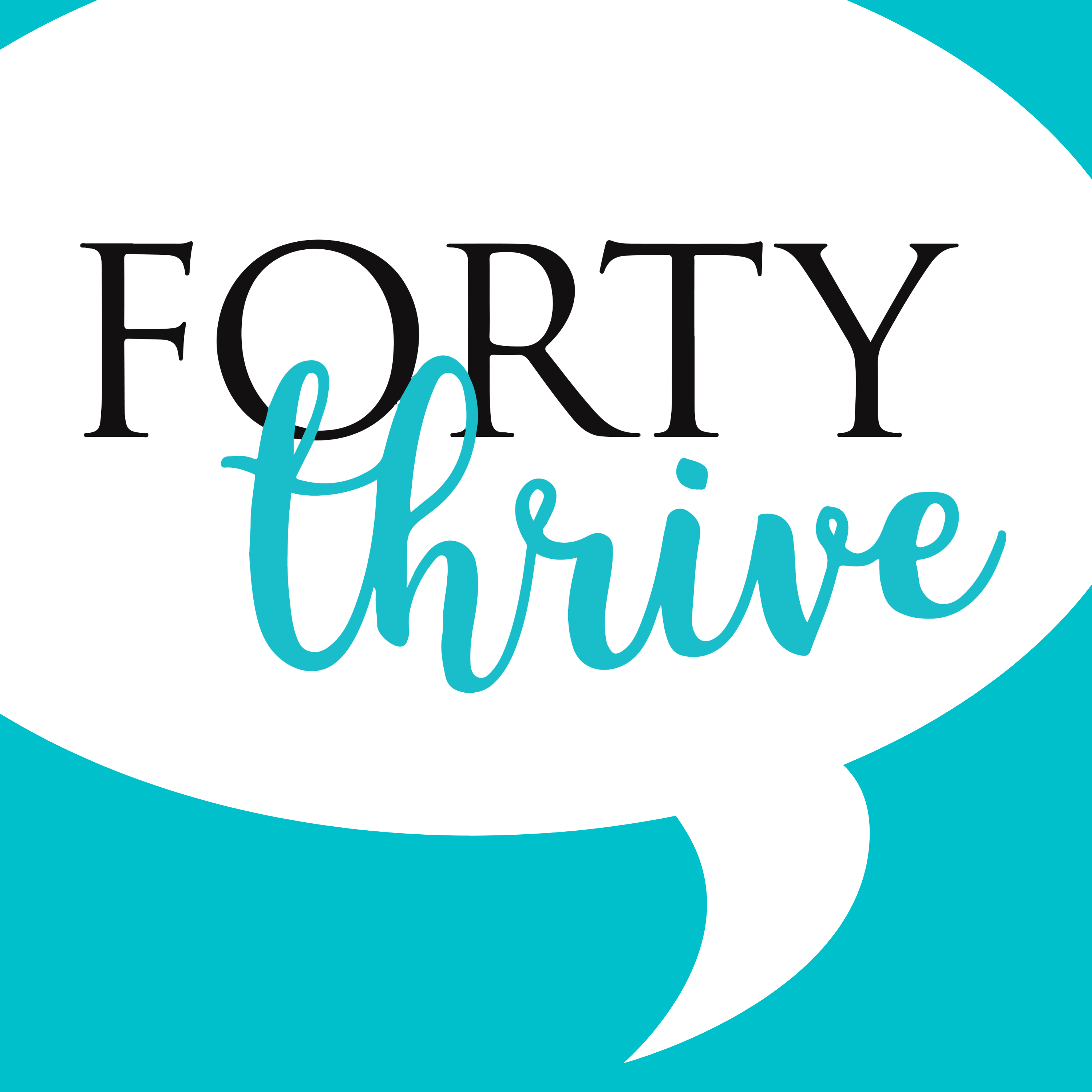 Forty Thrive show art