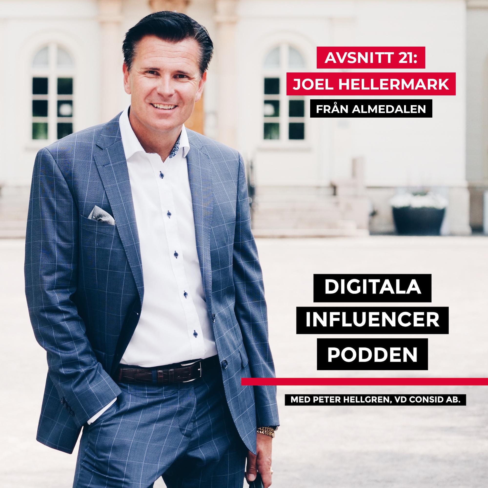 21. Joel Hellermark, grundare & vd Sana Labs – smarta algoritmer, skolans digitalisering och framtiden för AI