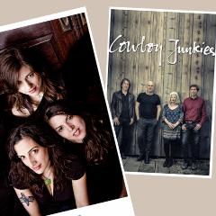 Artwork for Cowboy Junkies & The Wailin' Jennys | Tent Show Radio | Episode 21:6