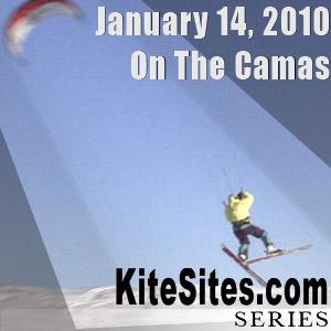Camas 2010 Snowkiting