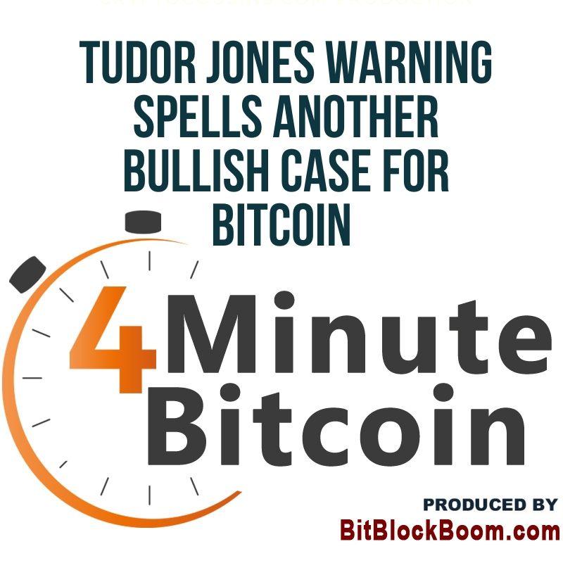 Tudor Jones' Inflation Warning Spells Bullish Case for Bitcoin