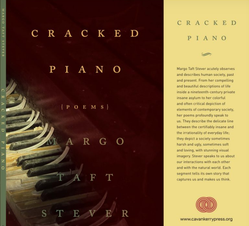 Cracked Piano Book Cover by Margo Taft Stevens