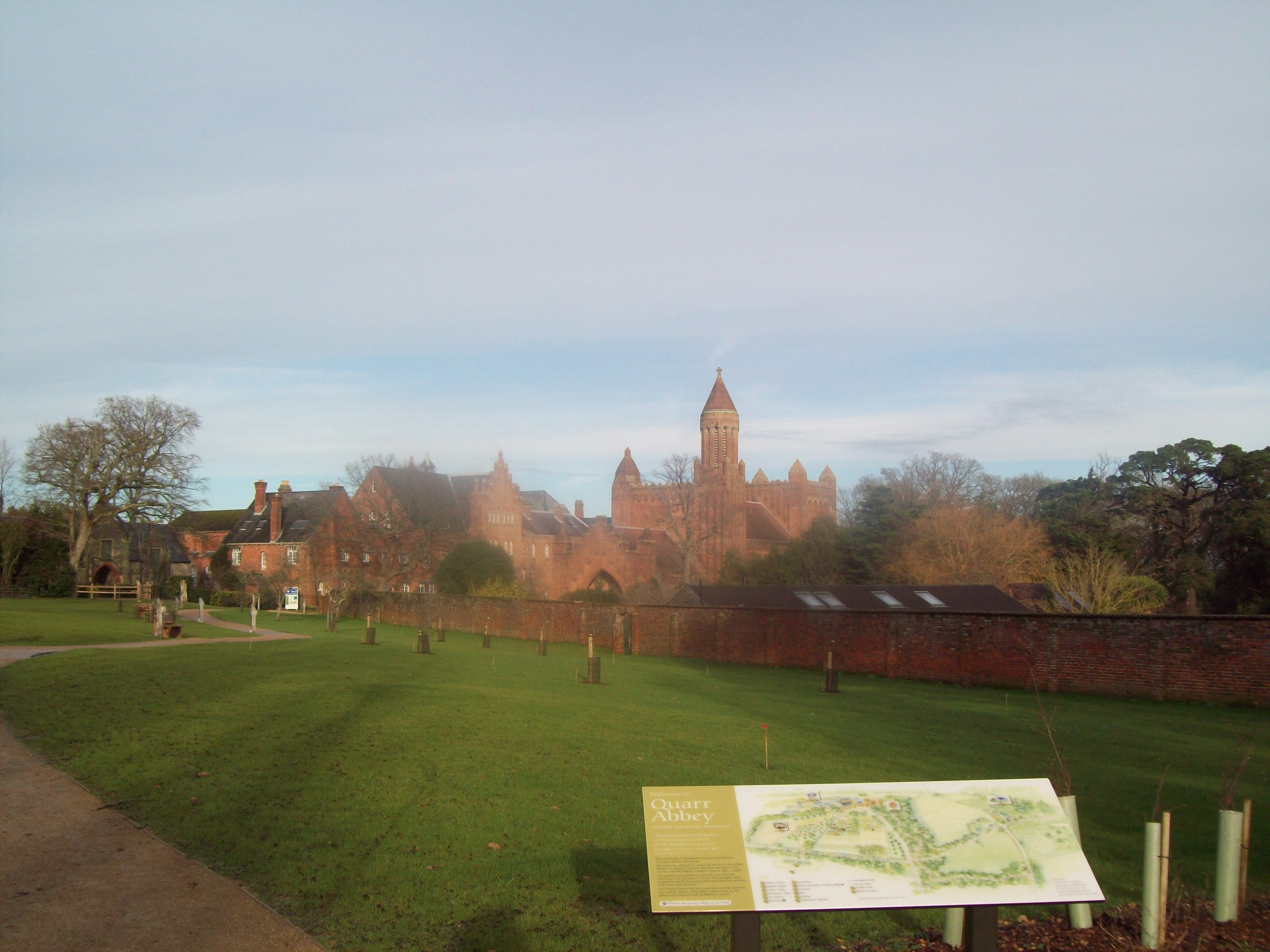 Quarr Abbey : Episode 2.4