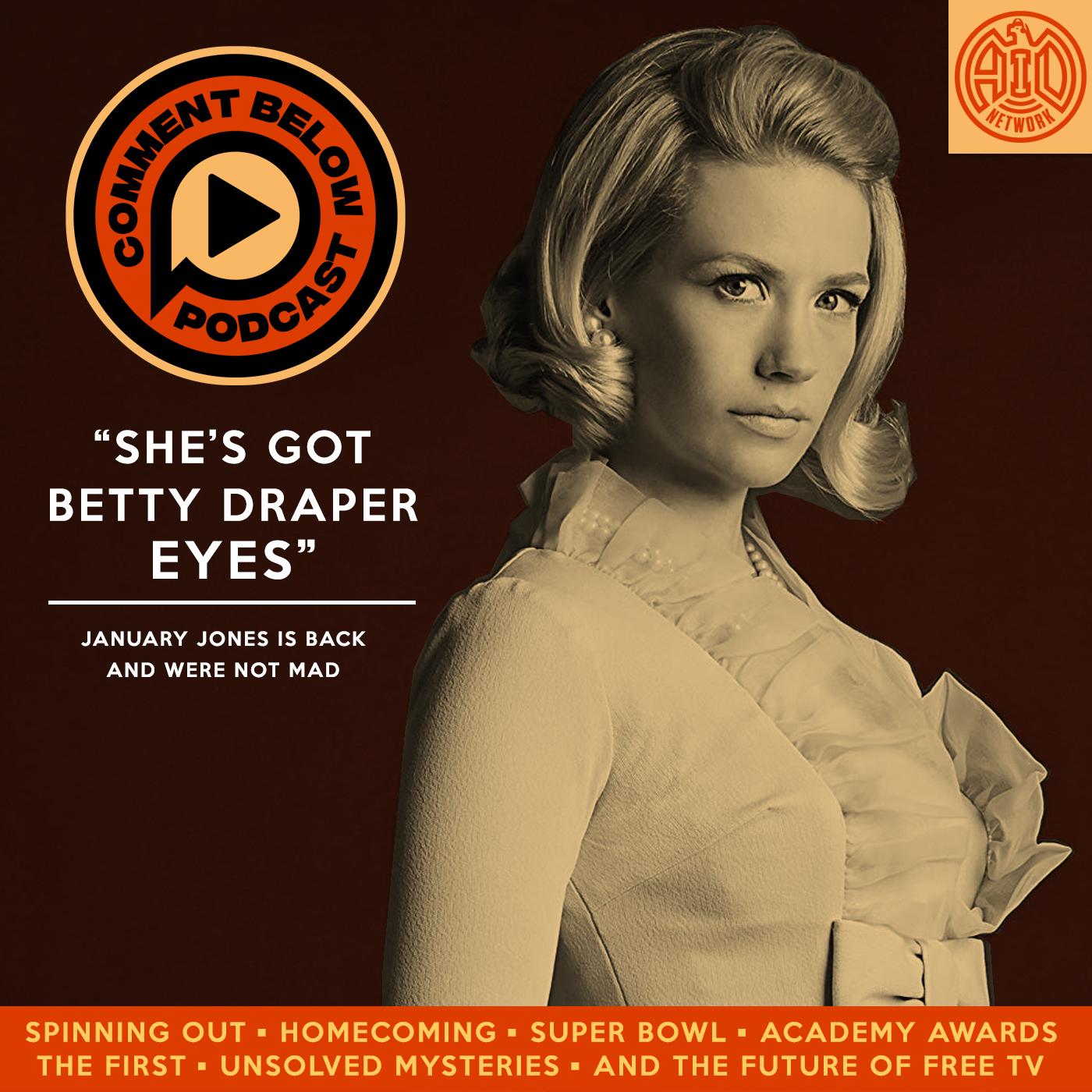 Artwork for 896 - She's Got Betty Draper Eyes