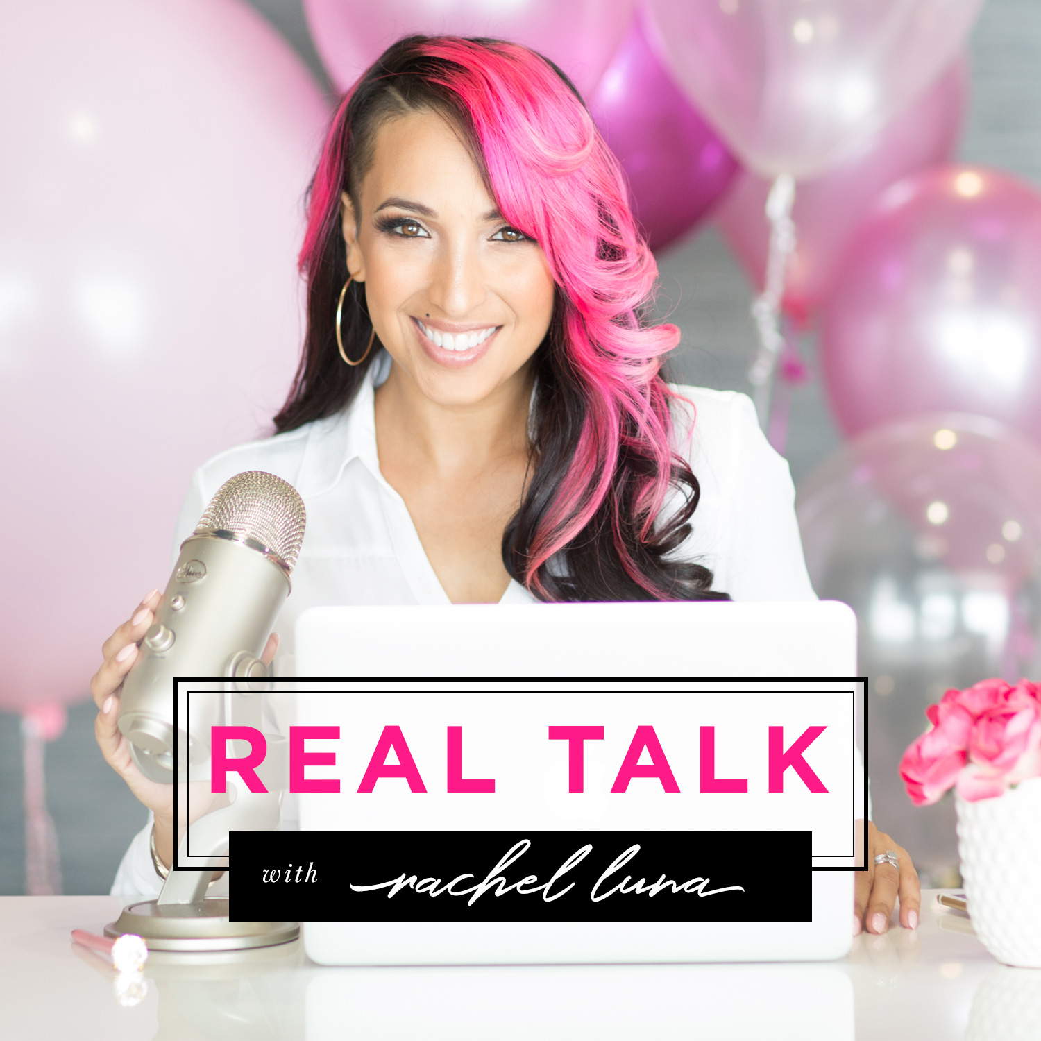 REAL TALK with Rachel Luna | Business CONFIDENCE + STRATEGY | Personal Development | Money |  Time Management show art