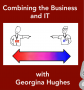 Artwork for Combining the Business and IT with Georgina Hughes