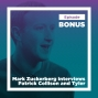 Artwork for Mark Zuckerberg Interviews Patrick Collison and Tyler Cowen on the Nature and Causes of Progress (Bonus)