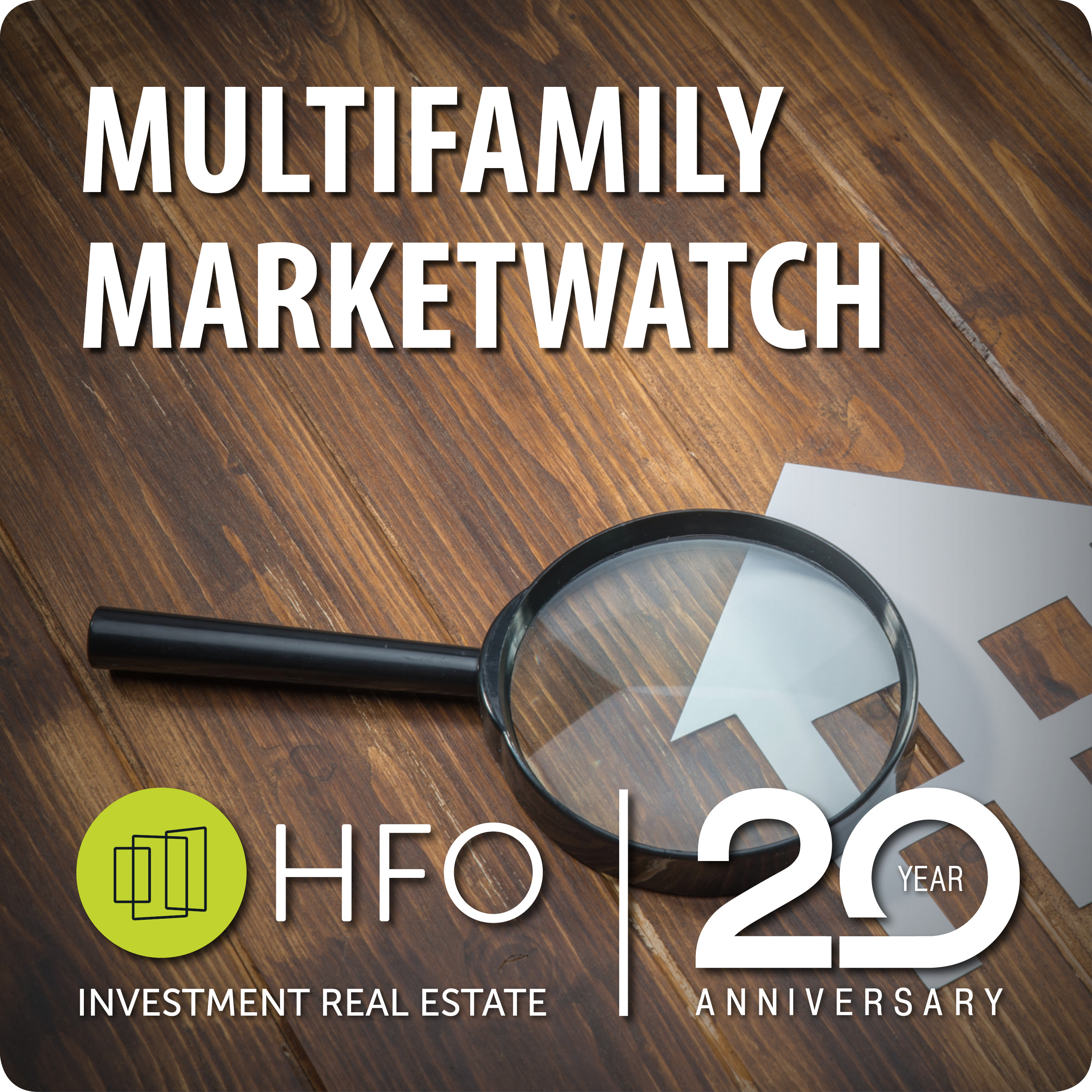 HFO Multifamily Marketwatch show art