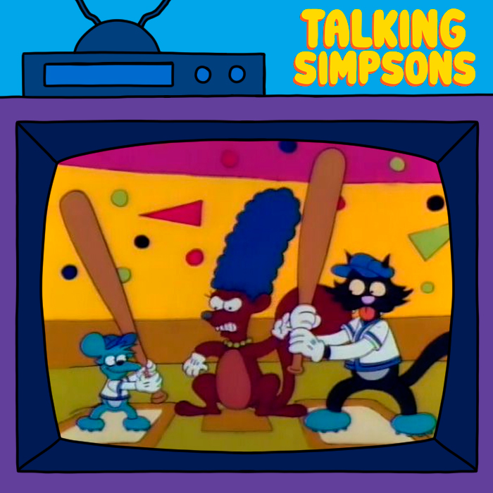 Talking Simpsons - Itchy & Scratchy & Marge With Toby Jones & Maddie Queripel
