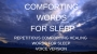 Artwork for  Series 2 Episode 17 COMFORTING WORDS FOR DEEP SLEEP Repetitious words for sleep meditation with MUSIC 432 Hz