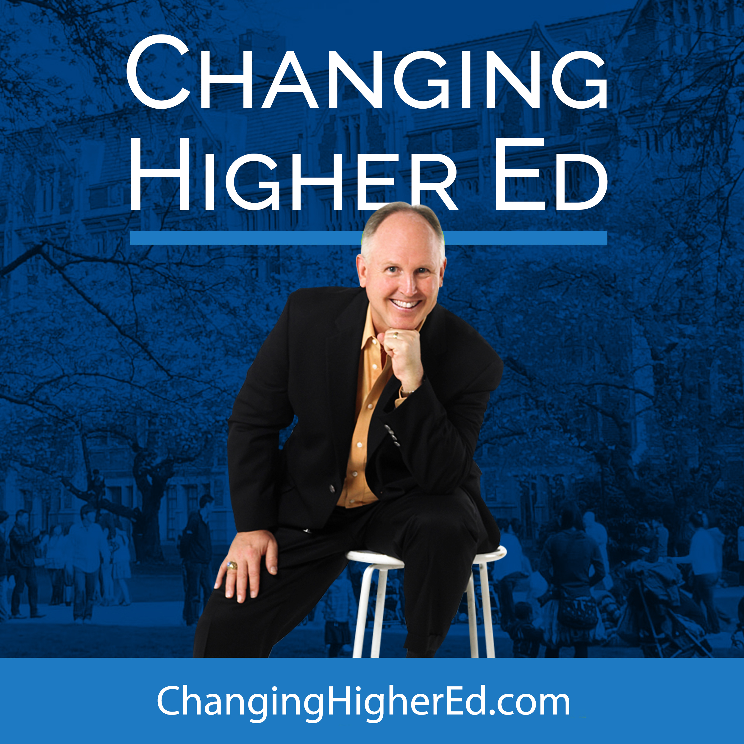 Changing Higher Ed show art