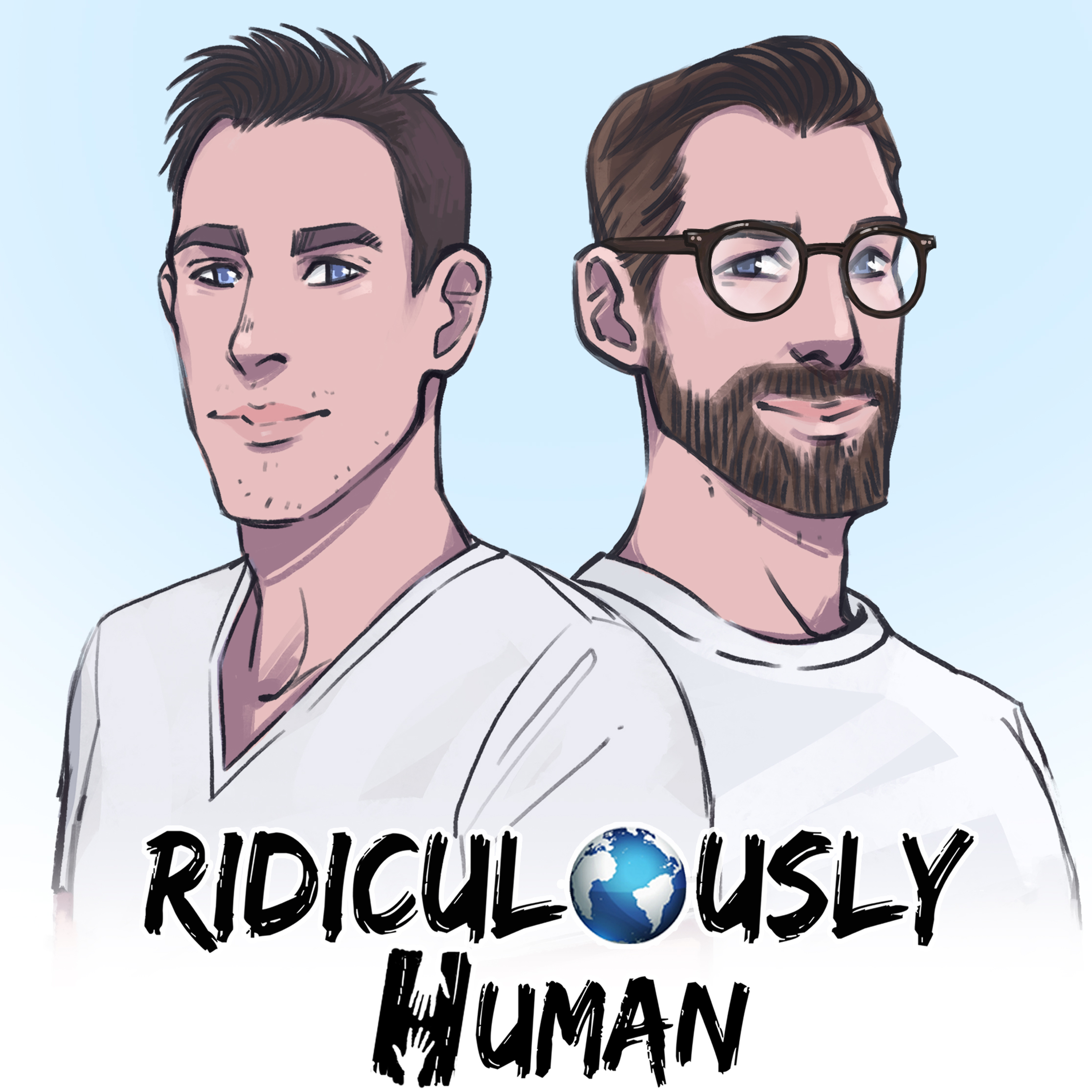 The Ridiculously Human Podcast show art