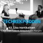 Artwork for 62. Livepodd med Lisa Hartikainen på Talent Acquisition Forum