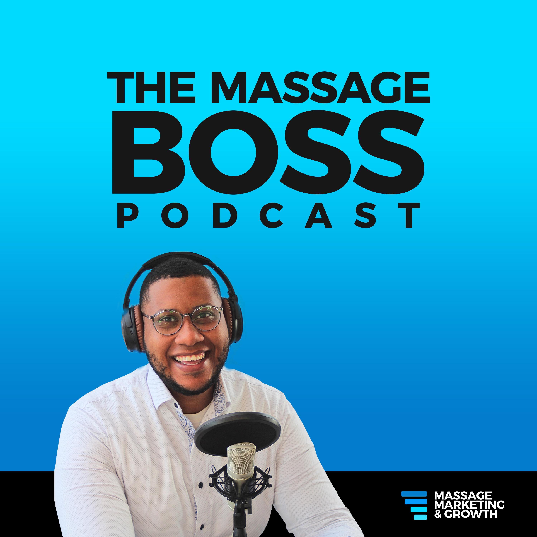 The Massage Boss Podcast show art