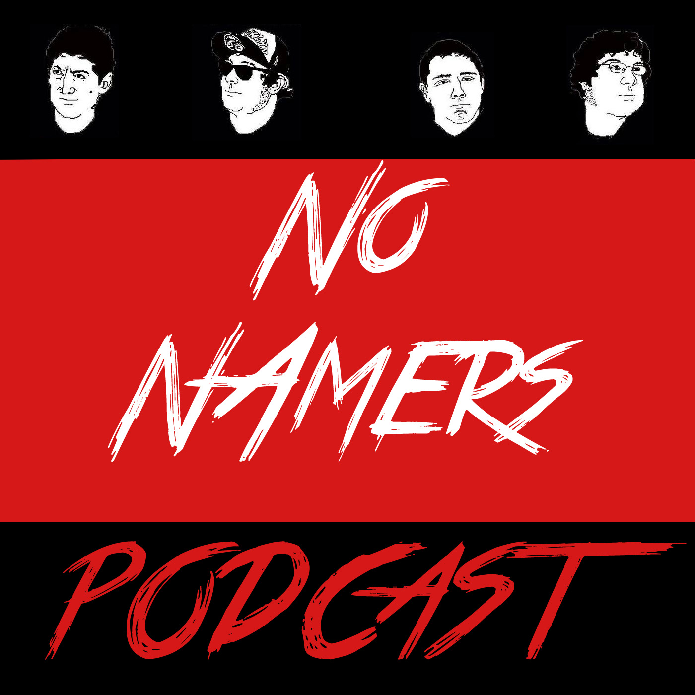 NoNamers podcast logo