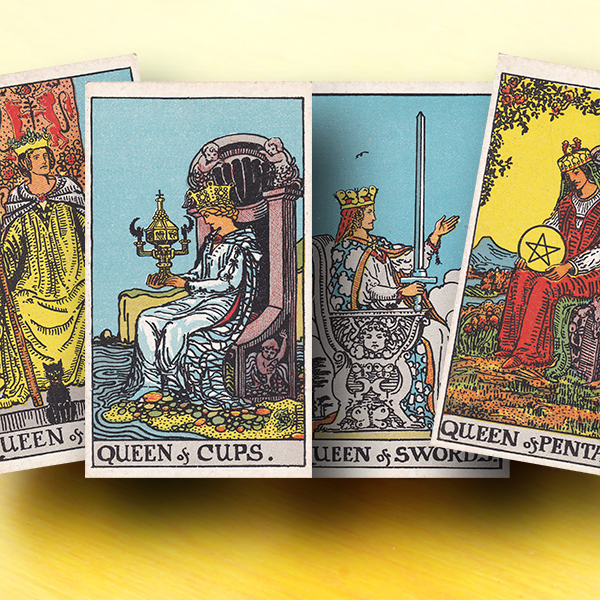 Queens in the tarot: How to know exactly what ANY queen means in EVERY spread you cast