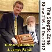 The Skeptic Zone #216 - 8.Dec.2012