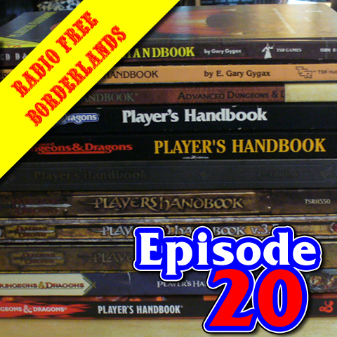 Episode 20: The Player's Handbook Extravaganza!