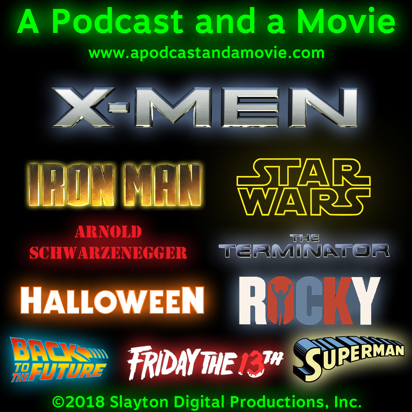 A Podcast and a Movie show art