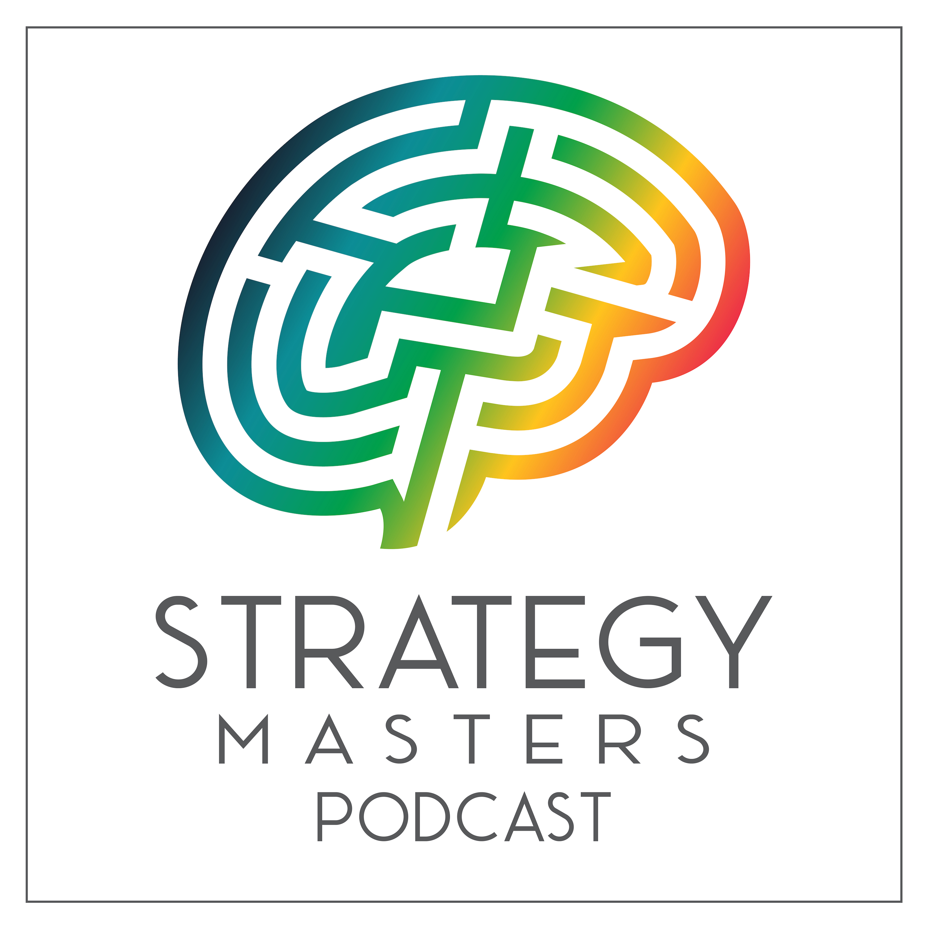 The Strategy Masters Podcast show art
