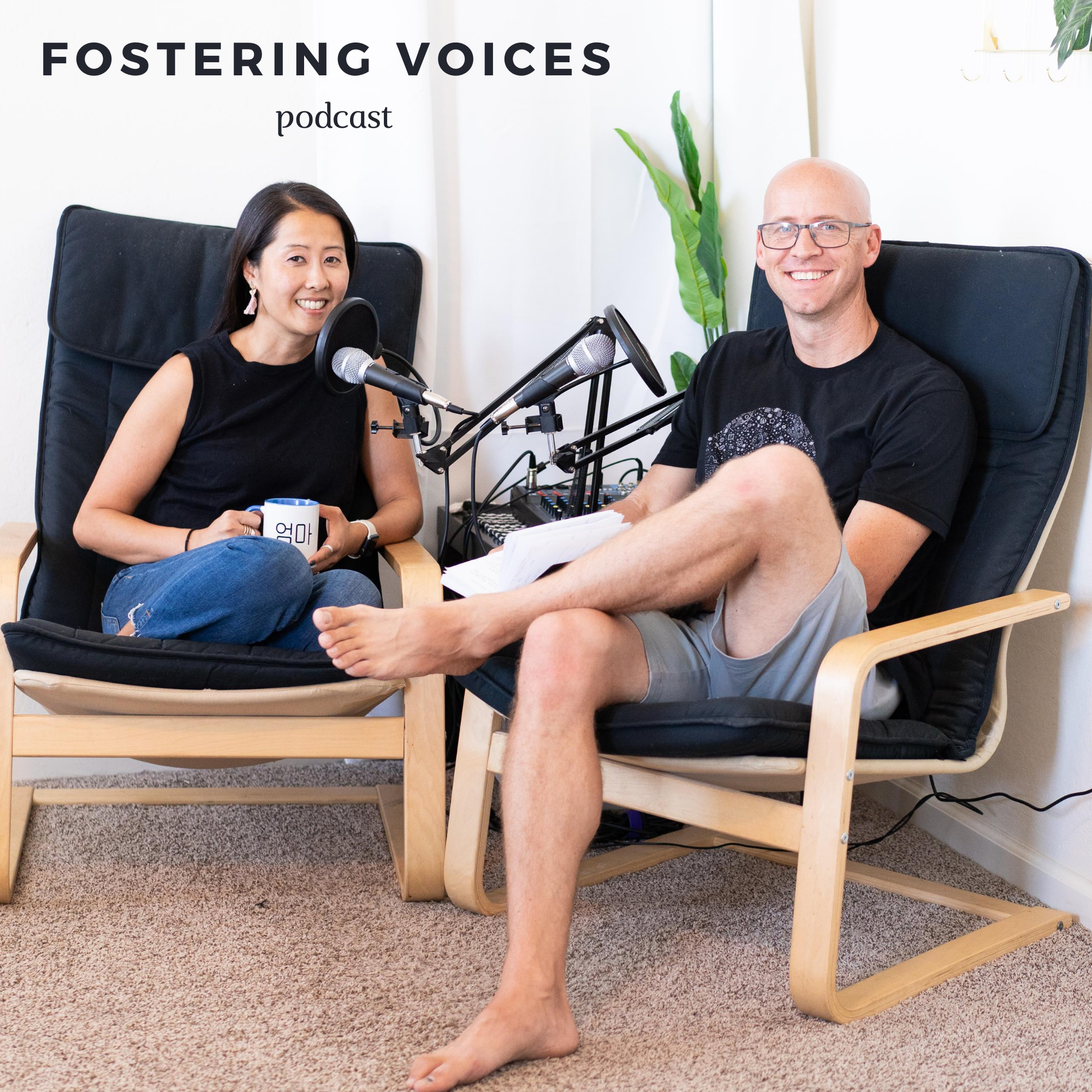 Episode 85: Interview with Arizona Association for Foster and Adoptive Parents show art