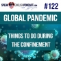 Artwork for #122 Global Pandemic What to do during the lockdown