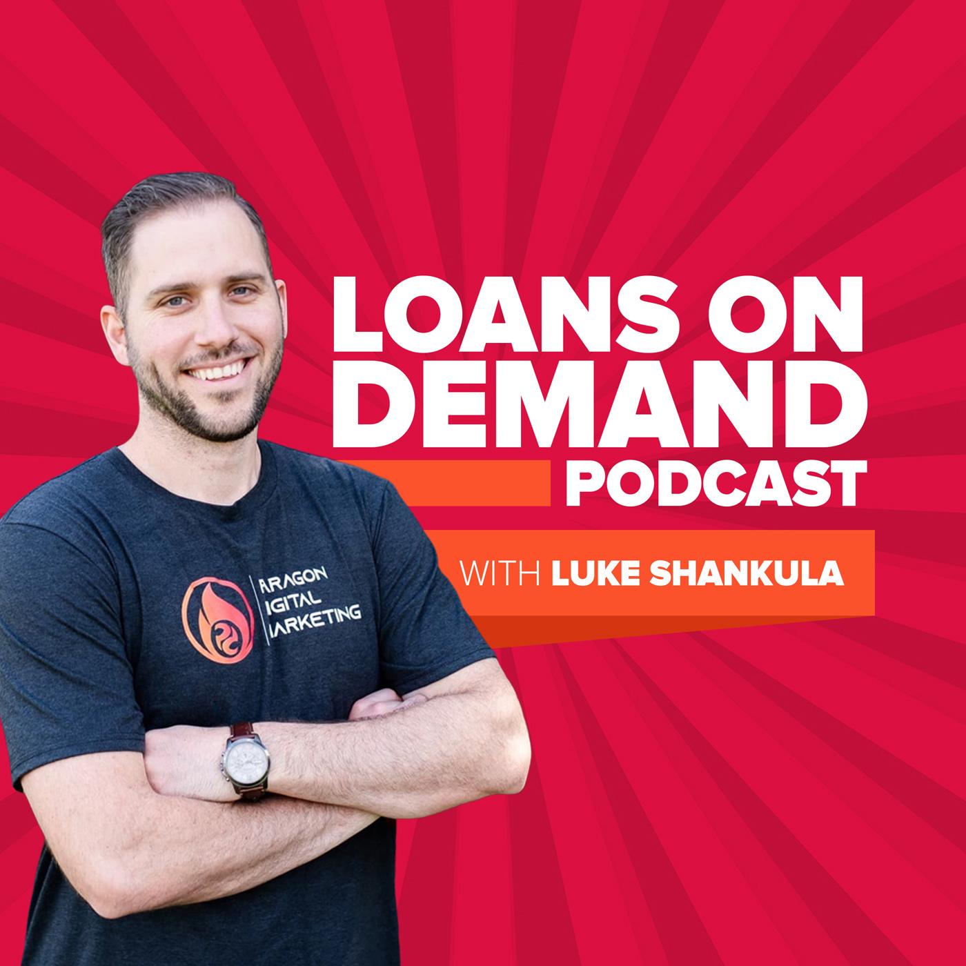 Loans On Demand Podcast show art