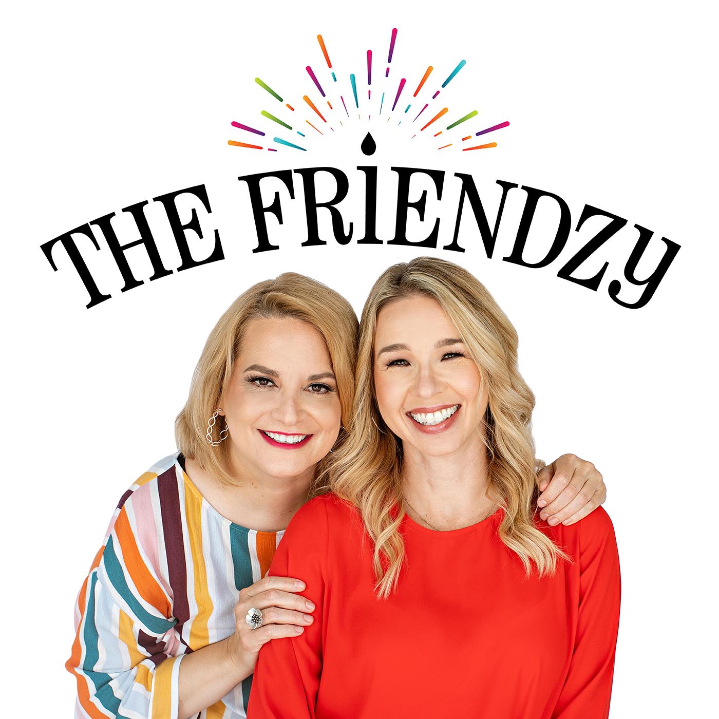 The Friendzy with Melissa Carter & Jenn Hobby show art