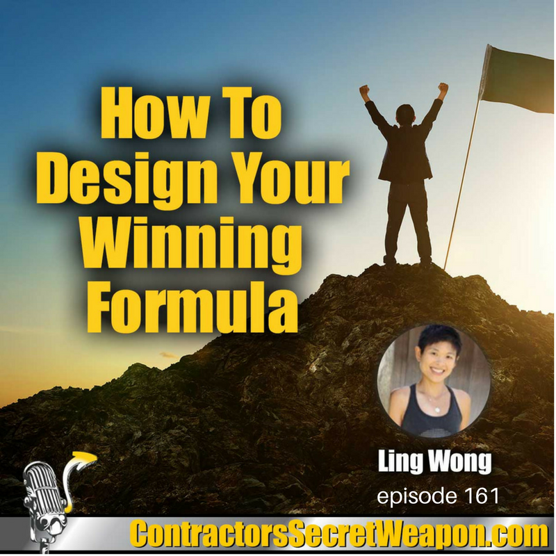 How To Design Your Winning Formula with Ling Wong episode 161