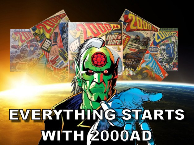 Everything Starts With 2000AD #01
