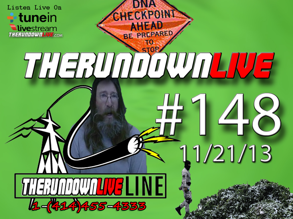 The Rundown Live #148 Denver Pot Raids, JFK,DNA Checkpoint, Mesh Network, Montana Sovereign