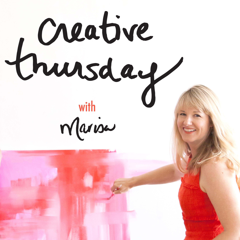 Creative Thursday with Marisa show art