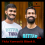 Artwork for EP: 194 Hitesh R. and Vicky Vaswani The Journey from Cerebral Palsy to Better Than Normal