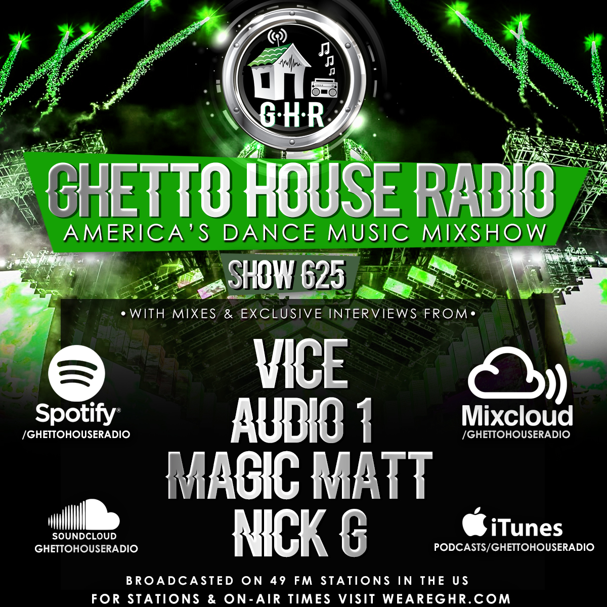 GHR - Show 625 - Vice!