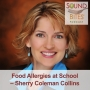 Artwork for 091: Food Allergies at School – Sherry Coleman Collins